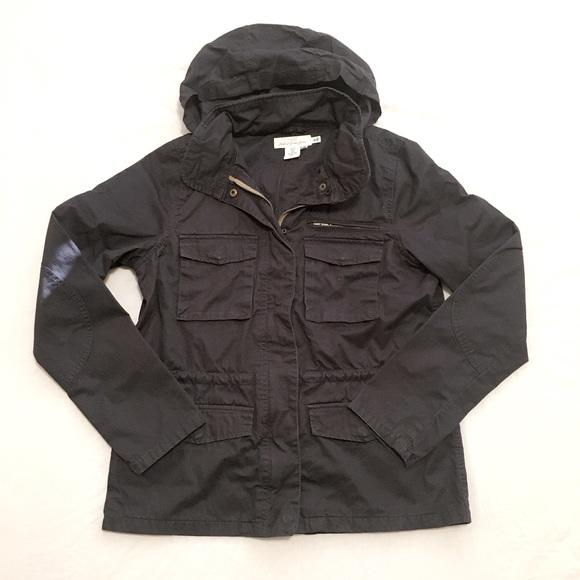H&M L.O.G.G Hoodie Jacket Black